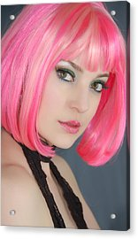 Acrylic Print featuring the photograph Pretty In Pink by Jim Poulos
