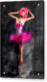 Pretty In Pink Acrylic Print