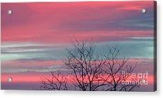 Pretty In Pink Sunrise Acrylic Print