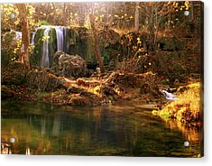 Acrylic Print featuring the photograph Price Falls 1 Of 5 by Jason Politte