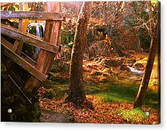 Acrylic Print featuring the photograph Price Falls 3 Of 5 by Jason Politte