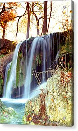 Acrylic Print featuring the photograph Price Falls 5 Of 5 by Jason Politte