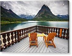 Priceless Glacier View Acrylic Print