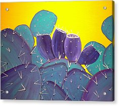 Prickly Pear With Fruit Acrylic Print