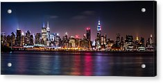 Pride Weekend Panorama Acrylic Print