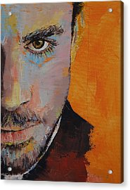 Priest Acrylic Print by Michael Creese