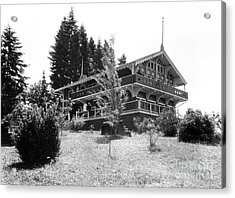 Priest Point Park Chalet Summer 1940 Acrylic Print