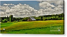 Priest River Barn Acrylic Print