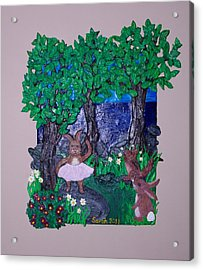 Prima Bunny Acrylic Print