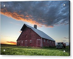 Primary Palouse Colors Acrylic Print