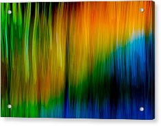 Acrylic Print featuring the photograph Primary Rainbow by Darryl Dalton