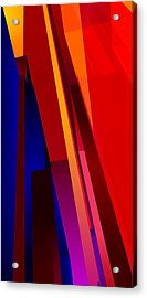 Primary Skyscrappers Acrylic Print by James Kramer
