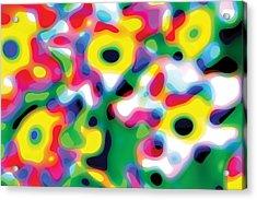 Primary Soft Centres Acrylic Print