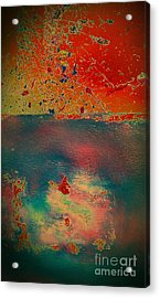 Acrylic Print featuring the painting Primordial by Jacqueline McReynolds