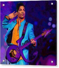 Prince 3 Acrylic Print by  Fli Art
