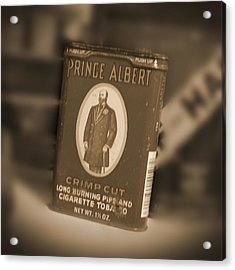 Prince Albert In A Can Acrylic Print by Mike McGlothlen