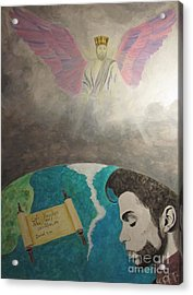 Prince And Prayer Acrylic Print