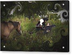 Prince And Snow White Acrylic Print