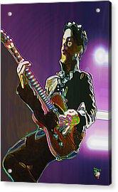 Prince Acrylic Print by  Fli Art