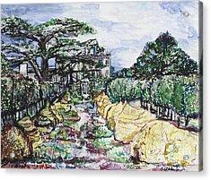 Prince Charles Gardens Acrylic Print