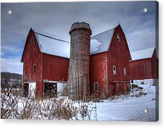 Prince Farm Acrylic Print by David Simons