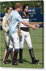 Prince Harry Handshake Acrylic Print