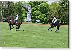 Prince Harry Polo Action Acrylic Print