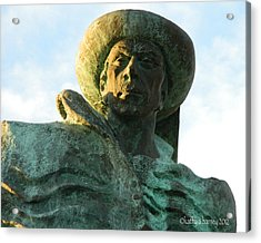 Acrylic Print featuring the photograph Prince Henry The Navigator by Kathy Barney