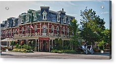 Prince Of Wales Hotel 9000 Acrylic Print by Guy Whiteley