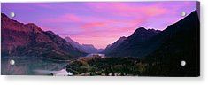 Prince Of Wales Hotel In Waterton Lakes Acrylic Print