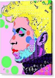 Prince Acrylic Print by Ricky Sencion