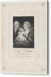 Prince Serge And Princess Barbara Acrylic Print