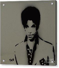 Prince Spray Art Acrylic Print