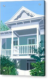 Prince Town Acrylic Print