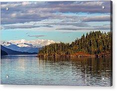 Prince William Sound Alaskan Landscape Acrylic Print