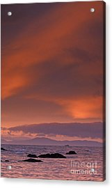 Prince William Sound Sunrise Acrylic Print by Tim Grams