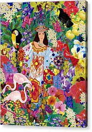 Princess Guajira Acrylic Print