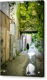Princess In The City Acrylic Print by Eric Soucy