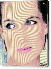 Princess Lady Diana Acrylic Print by Tony Rubino