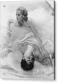 Princess Natalie Paley And Victor Kraft Acrylic Print by Cecil Beaton