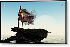 Princess Of Mars... Acrylic Print by Tim Fillingim