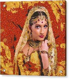 Princess Of Spice Acrylic Print by Marina Likholat