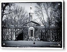 Princeton University Acrylic Print by John Rizzuto