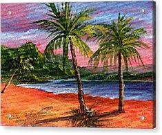 Princeville Kauai Acrylic Print