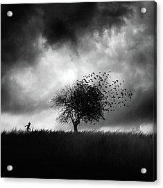 Printemps Perdu Acrylic Print