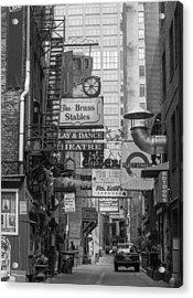 Printers Alley Nashville  Acrylic Print