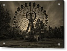 Pripyat Ferris Wheel Acrylic Print