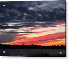Prism At Sunset Acrylic Print by Joetta Beauford