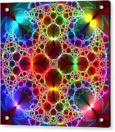 Prism Bubbles Acrylic Print by Tammy Wetzel