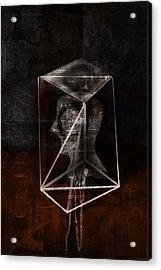 Prism Acrylic Print by Kim Gauge